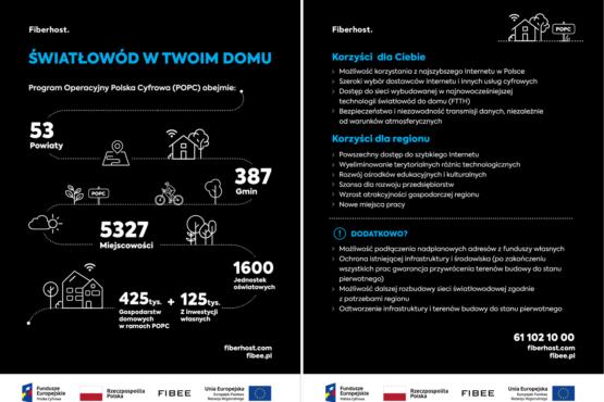 Wybudujemy 4 tys. km nowoczesnej sieci światłowodowej dla 7 powiatów Mazowsza i Lubelszczyzny